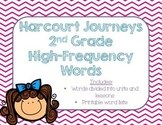 Journeys 2nd Grade High-Frequency Words