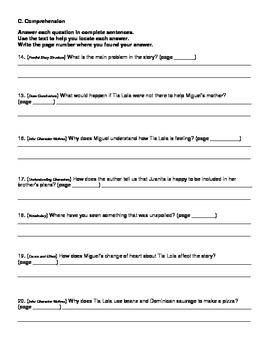 Harcourt Journeys Grade 4 (2012) Unit 1 Story 3 Comprehension Questions