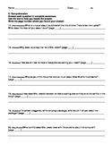 Harcourt Journeys Grade 5 (2012) Unit 1 Story 1 Comprehens