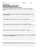 Harcourt Journeys Grade 5 (2012) Unit 2 Story 4 Comprehens
