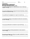 Harcourt Journeys Grade 5 (2012) Unit 3 Story 1 Comprehens