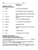 Harcourt Journeys Grade 5 (2012) Unit 3 Story 5 Comprehens