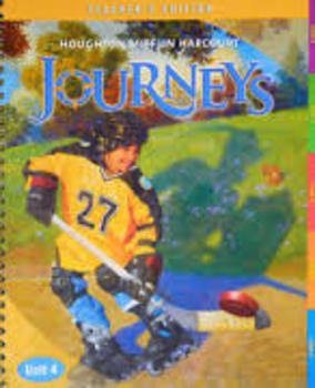 Harcourt Journey's Grade 5 Unit 1  Complete Worksheets & Vocab Lists.