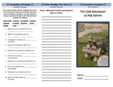Harcourt Journeys The Dog Newspaper Trifold Grade 5