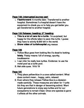 Harcourt Journeys Grade 5 Theme 2: Interrupted Journey Dissection