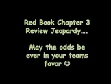 Harcourt Math Chapter 3 Review Jeopardy Game
