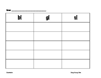 Harcourt Reading- Busy Buzzy Bee Chart-Free