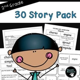 Second Grade Reading Story Resource Pack  (270 EDITABLE Items!)