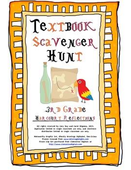 3rd Grade Harcourt Reflections Textbook Scavenger