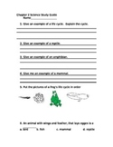 Harcourt Science 2nd Grade  Chapter 2 Study Guide