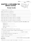 Harcourt Social Studies States & Regions Chapter 01 Study Guide (Grade 4)