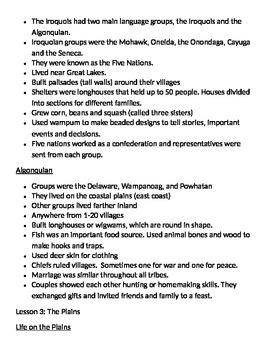 Harcourt Social Studies: U.S. History Chapter 2 Notes