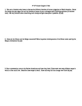 Harcourt Social Studies: U.S. History Chapter 2 Test