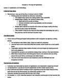Harcourt Social Studies: U.S. History Chapter 3 Notes