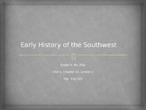 Harcourt States and Regions Early History of the Southwest