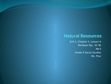 "Harcourt ""States and Regions"" Natural Resources"