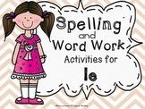 Consonant le Worksheets