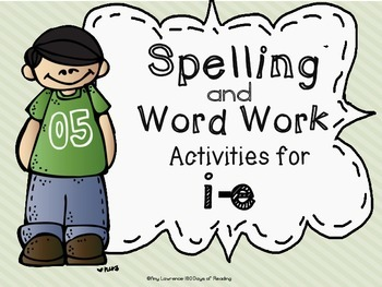 i-e Long Vowel Spelling, Word Work and Phonic Center Activities