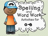 Silent e (o-e) Long Vowel Spelling, Word Work or Phonics C