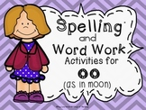 OO Vowel Team Printable Center Activities and Games