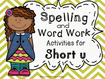 CVC Games, Activities and Worksheets for Word Work