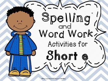 Short e  Spelling and Word Work Centers!