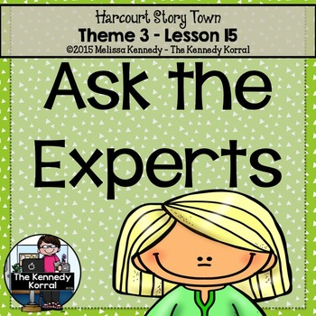 Ask the Experts {Lesson 15}
