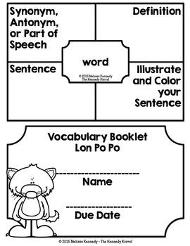 Lon Po Po {Lesson 16}