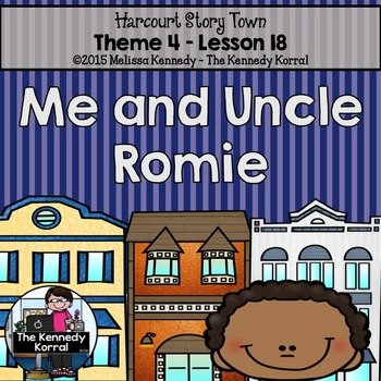 Me and Uncle Romie {Lesson 18}
