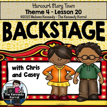 Backstage with Chris and Casey {Lesson 20}