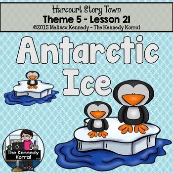 Antarctic Ice {Lesson 21}