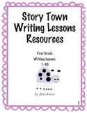 Harcourt Story Town Writing Lessons 1-10 First Grade