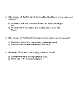 Harcourt StoryTown Adapted Weekly Lesson Tests, Grade 5, Lessons 6-10, 2-choice