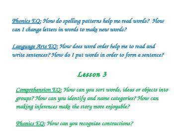 Harcourt StoryTown Gr. 1 Theme & Lesson Essential Questions