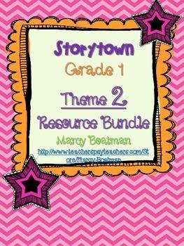 StoryTown Grade 1 Theme 2 (Lessons 4-6) Bundled Resource Unit