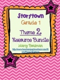 StoryTown Grade 1 Theme 2 (Lessons 4-6) Bundled Resource Unit