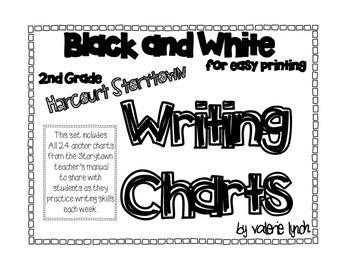 Harcourt Storytown 2nd Grade Writing Anchor Charts