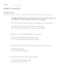 Harcourt Storytown Adapted Weekly Tests, Grade 2, Lessons 26-30