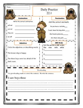 Harcourt Storytown Grade 1 Language Practice Lesson 22