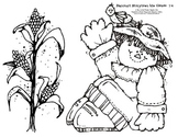 Harcourt Storytown K Themes 1-4 hfw I Spy with worksheet