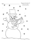 Harcourt Storytown K Themes 3-6 hfw I Spy with worksheet
