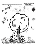 Harcourt Storytown K Themes 7-9 hfw I Spy with worksheet