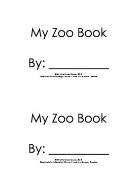 Harcourt Storytown K, lesson 24, My Zoo Book, hfw I, see, the, at # words