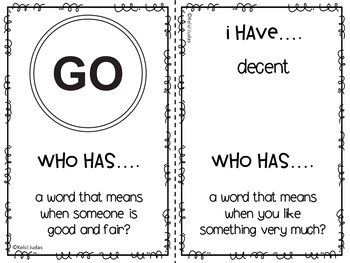 Storytown Lesson 23 Vocabulary Game [3rd Grade]