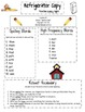 Harcourt Storytown Refrigerator Copy 1st Grade