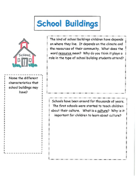 Harcourt Storytown grade 3 Lesson 3 Schools Around the World