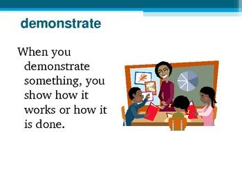 Harcourt Storytown's Robust Vocabulary Slides Grade 3 Lesson 7