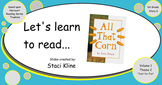 "Harcourt Trophies ""All That Corn"" Comprehensive Smartboard"