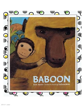 Harcourt Trophies Anthology 5 Baboon (Grade 1)