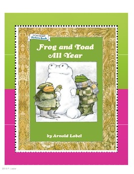 Harcourt Trophies Anthology 5 Frog and Toad All Year(Grade 1)